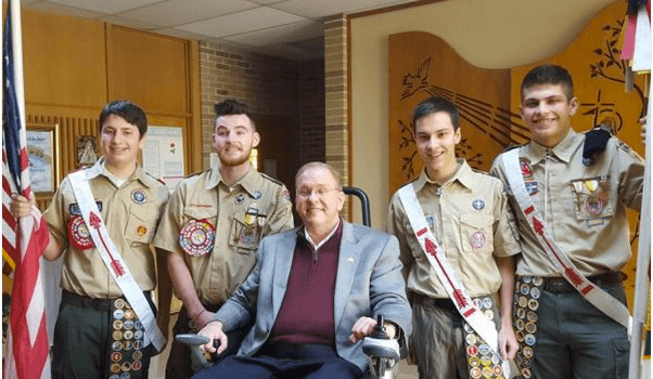 North Kingstown Patch: Troop 147 North Kingstown awards Eagle Scout honors to 4