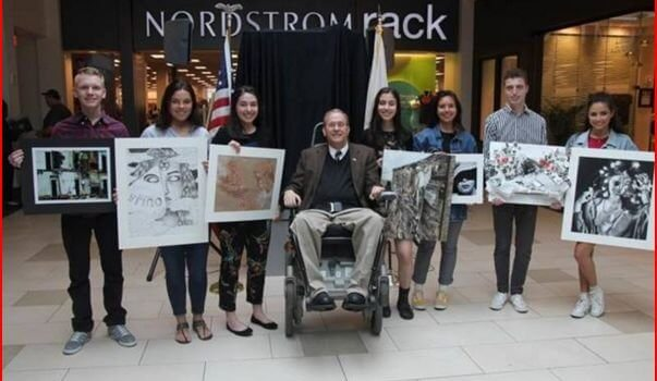 Patch: EG Student Wins Art Contest: Langevin's Office