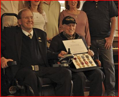 Coventry Courier: Coventry resident receives medals for WWII service