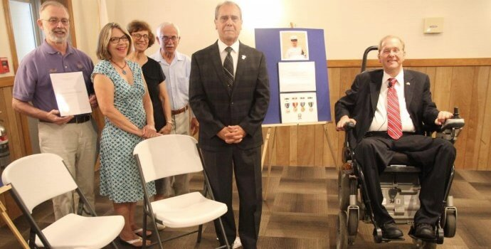 Warwick Post: Langevin Presents Medals To Seven Veterans Including Warwick's DePetrillo