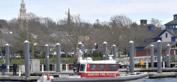 NewportRI.com: Newport to receive $24,500 to support fireboat