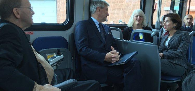 WPRO: RIPTA unveil 3 new zero-emissions buses