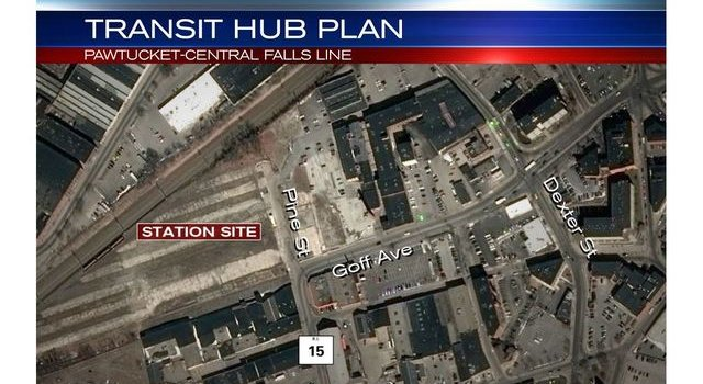 WPRI: Ground broken on Pawtucket-Central Falls commuter rail, bus hub